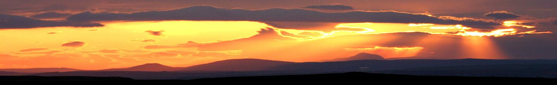 Sunset, Caithness, Clouds, Light