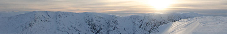 Creag Meagaidh, winter, snow, sun, Lochaber