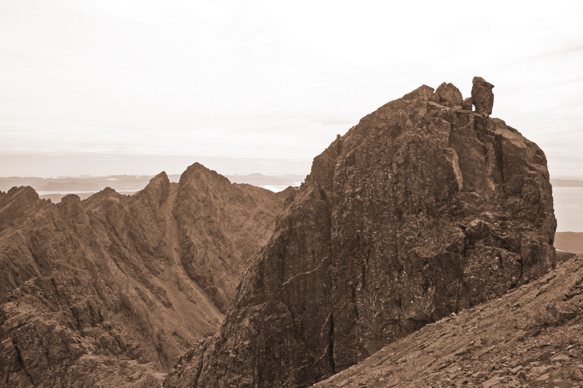 The In Pin and Sgurr Alasdair, Skye