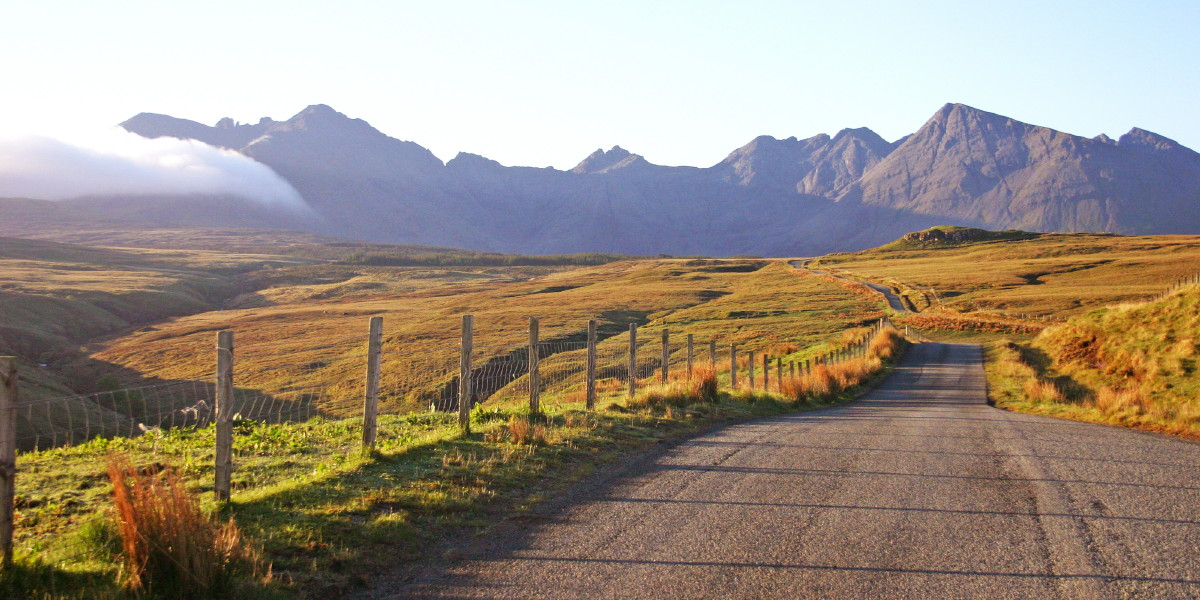 The Road to Glen Brittle