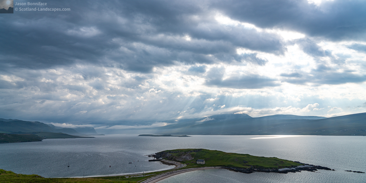 Photo - A view south west down Loch Eriboll