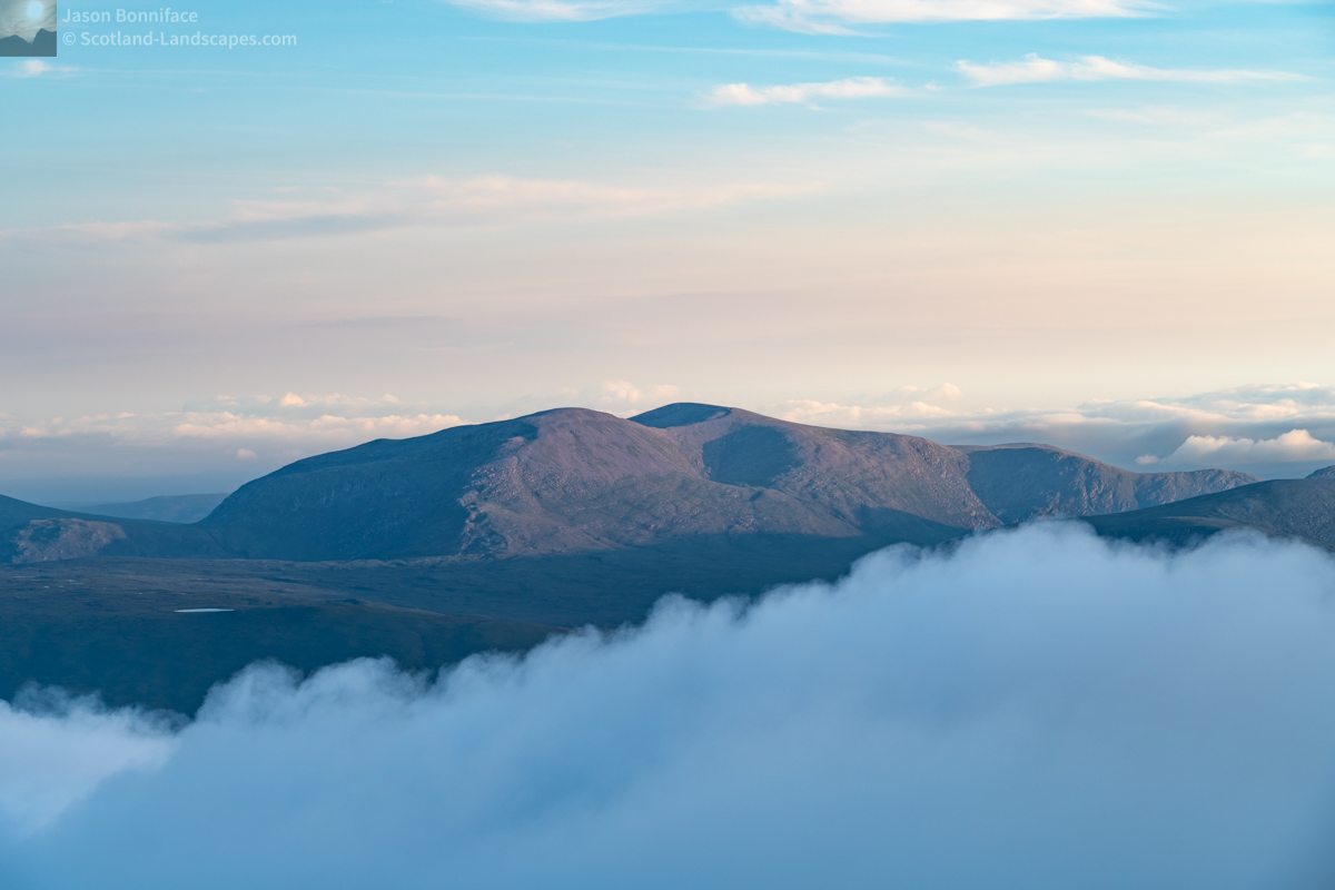 Ben Hee Over the Clouds from Ben Hope