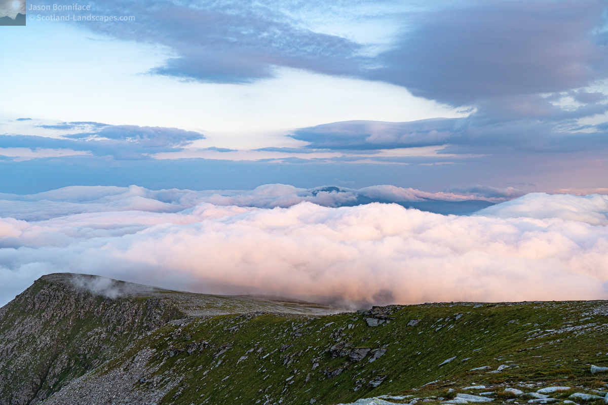 Photo - Above the Clouds - Ben Klibreck from Ben Hope