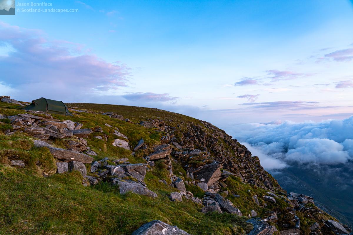 Photo - Camp Site - Ben Hope Summit Plateau