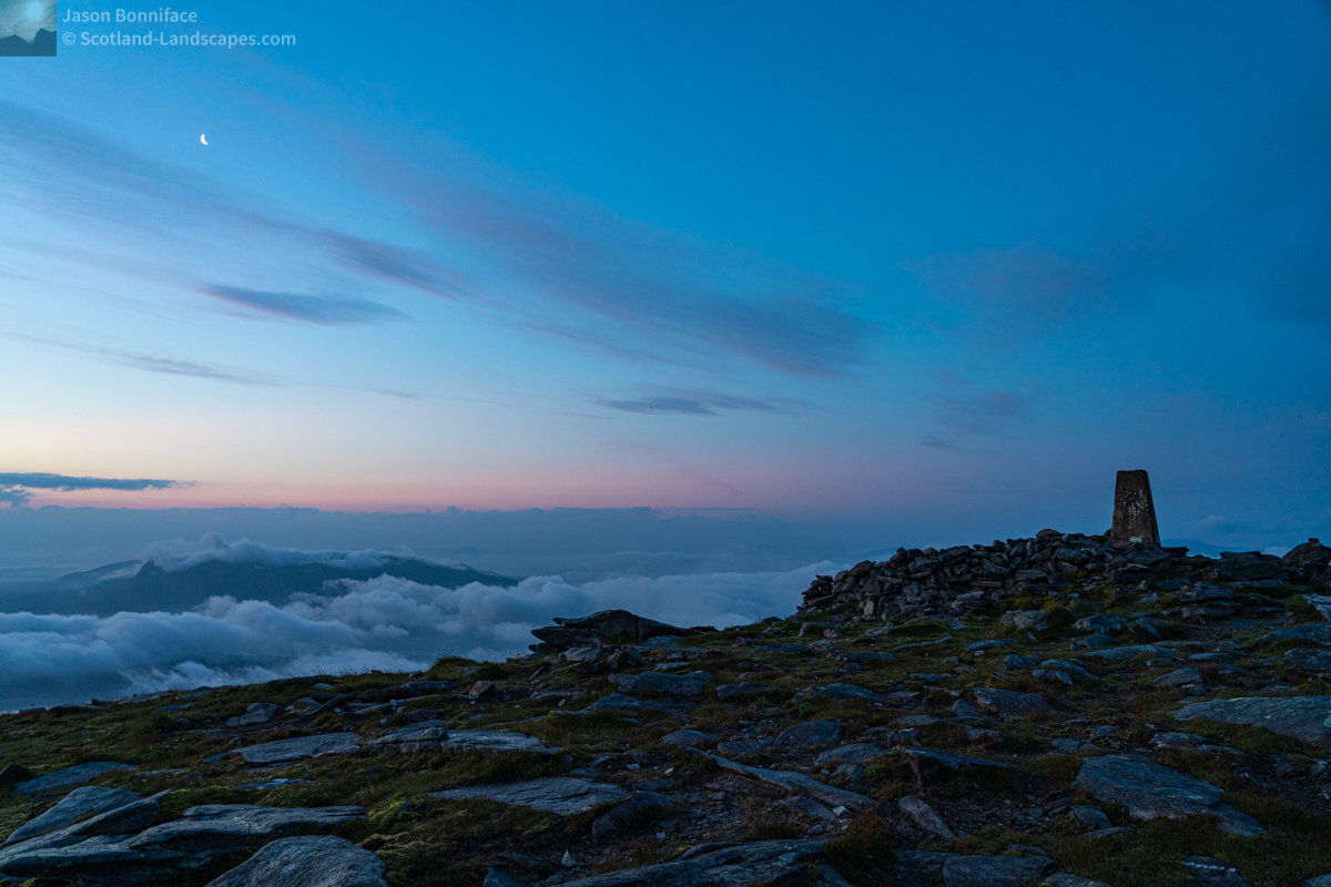 Photo - Early early Morning Ben Hope Summit 3
