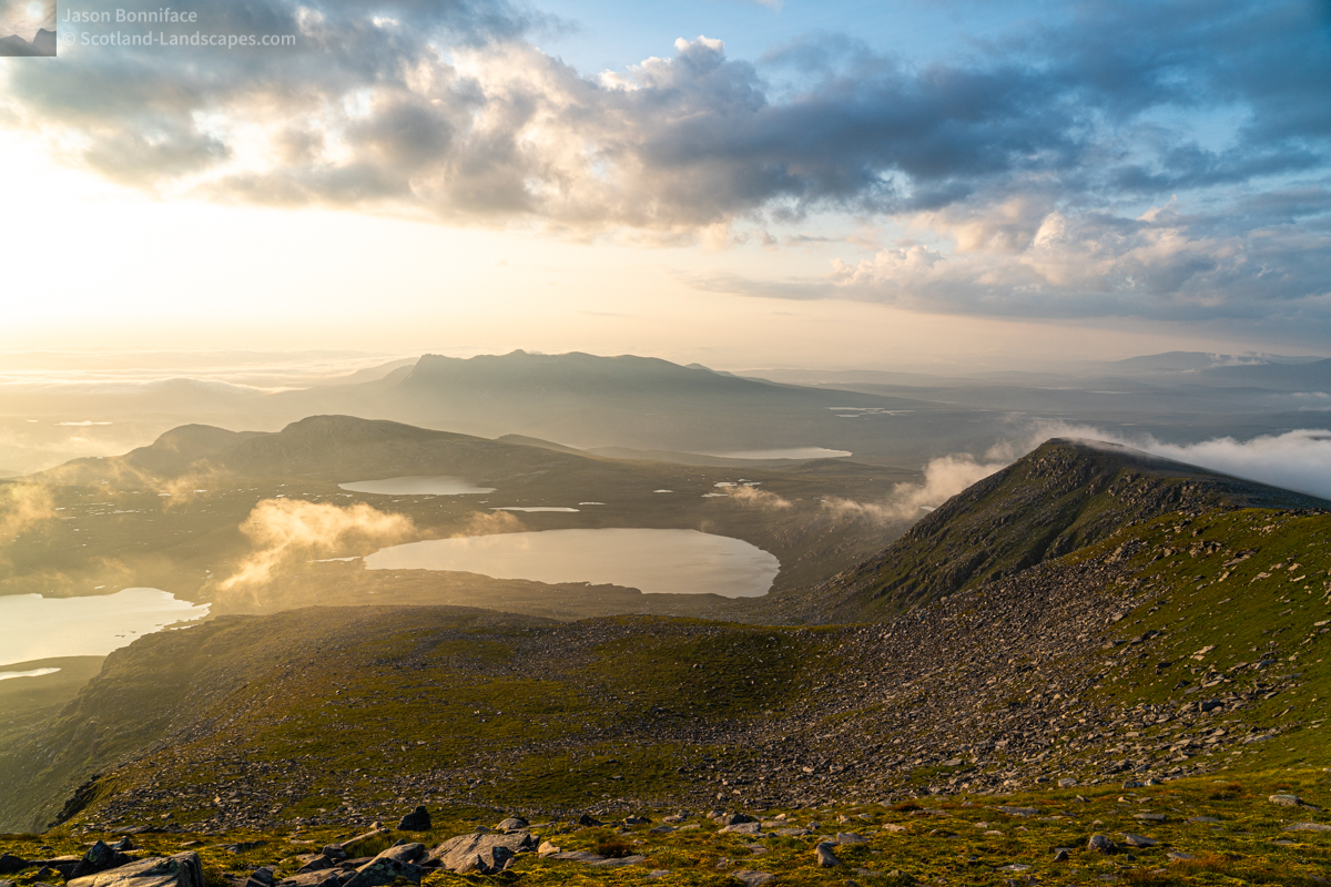 Photo - Early morning light - Ben Loyal from Ben Hope