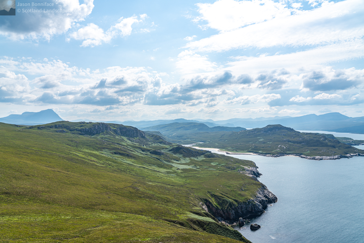 Photo - South to Ben Hope and the Loch Eriboll Hills