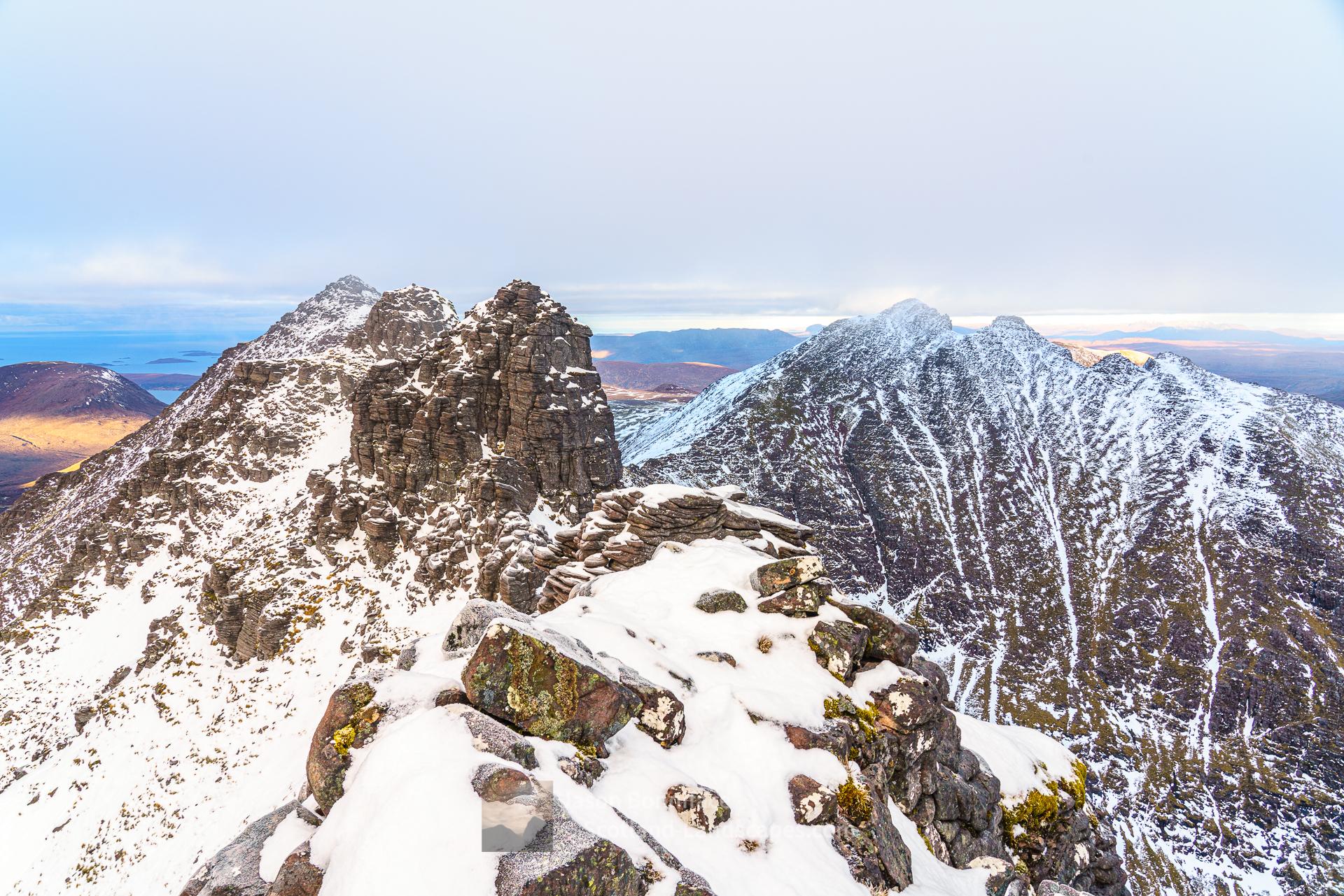 Corrag Bhuidhe Pinnacles, An Teallach