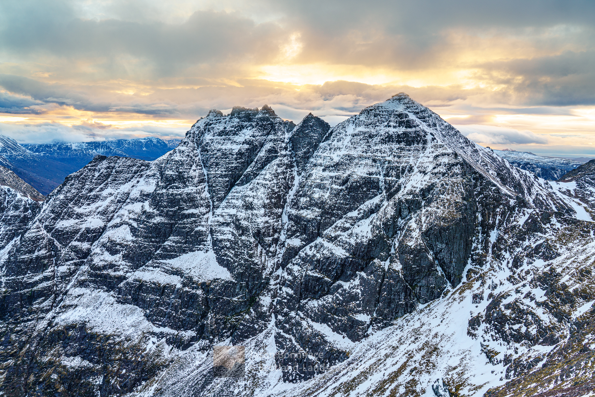 Corrag Bhuide, Lord Berkeley's Seat and Sgurr Fiona