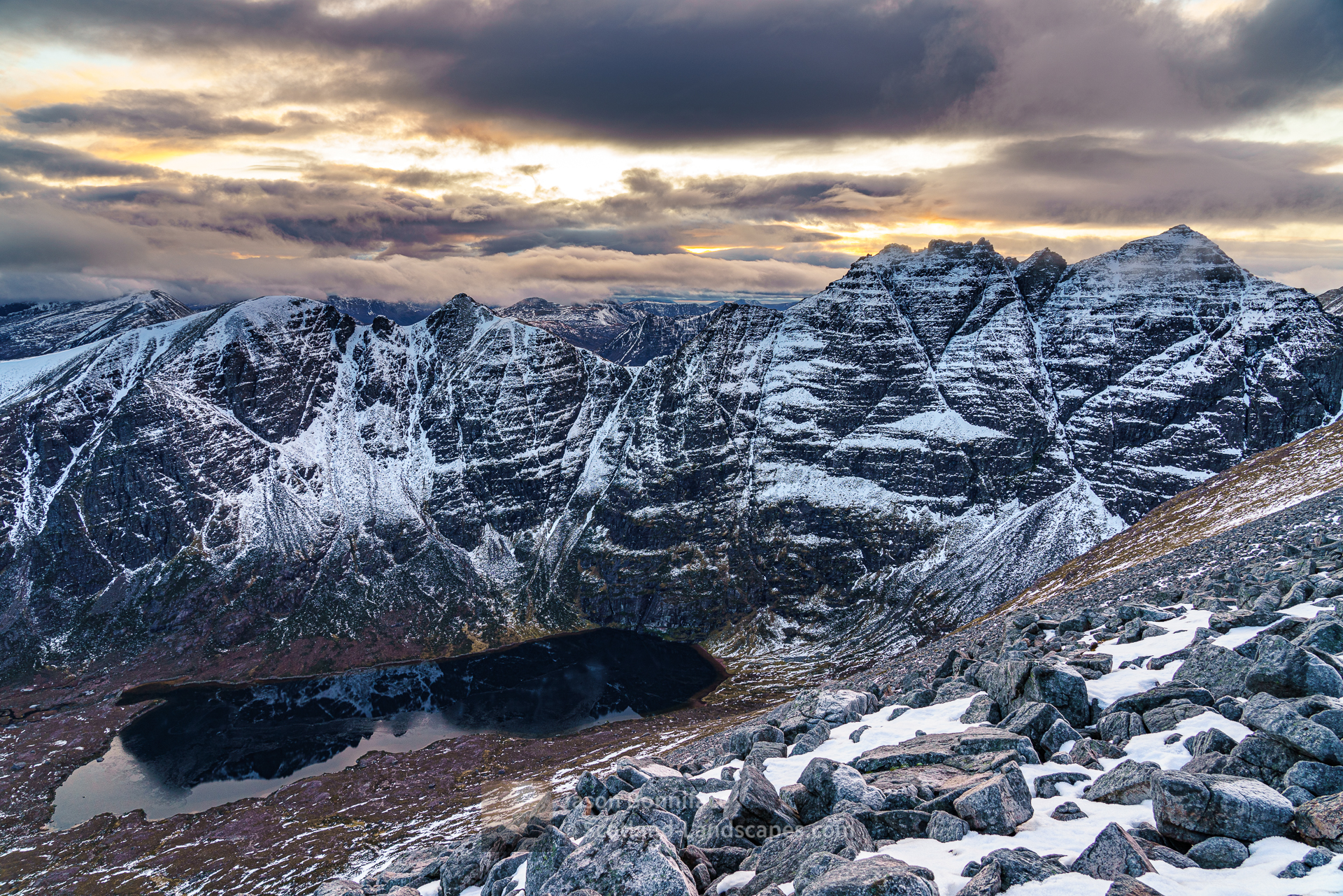 An Teallach Winter Solstice Afternoon