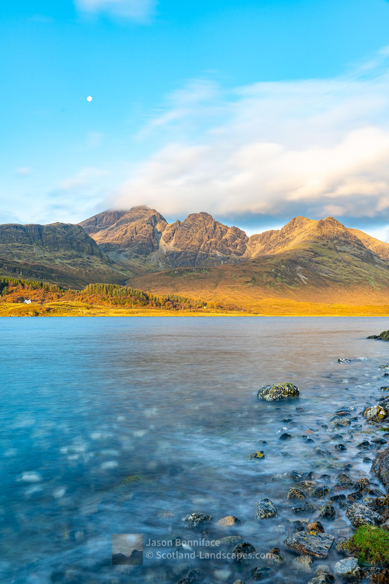Morning - Loch Slapin and Bla Bheinn, Skye