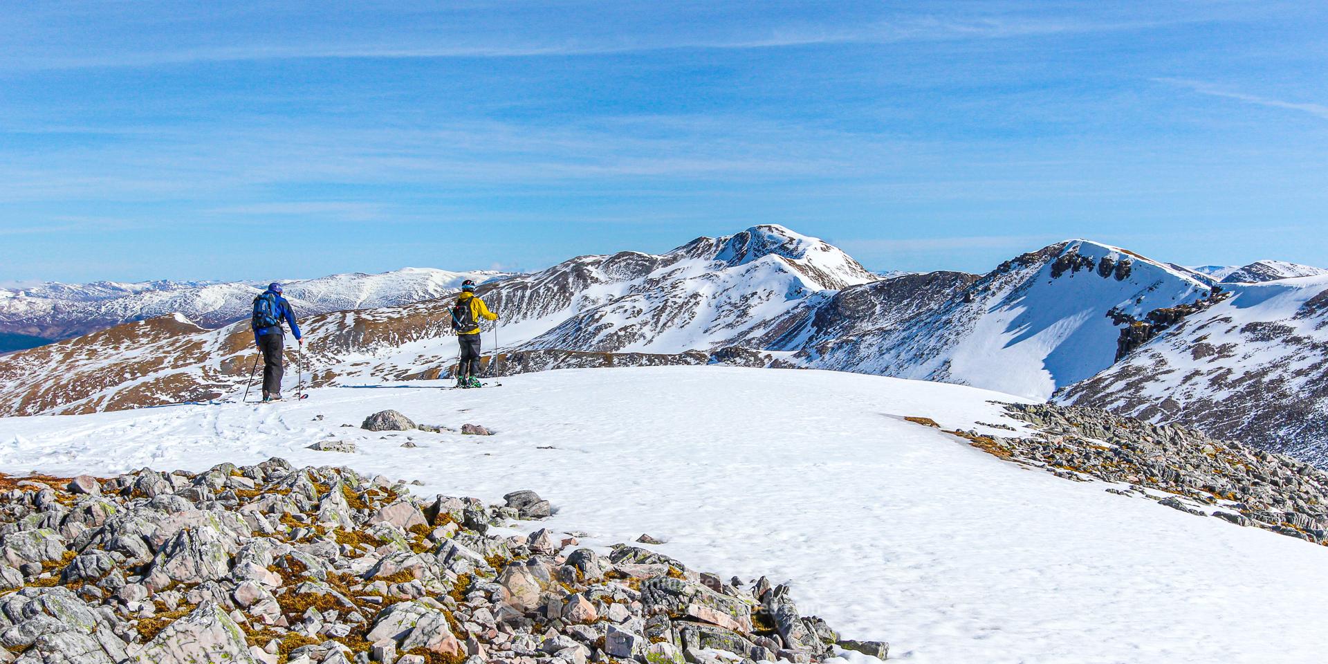 Ski Touring - Grey Corries, Lochaber