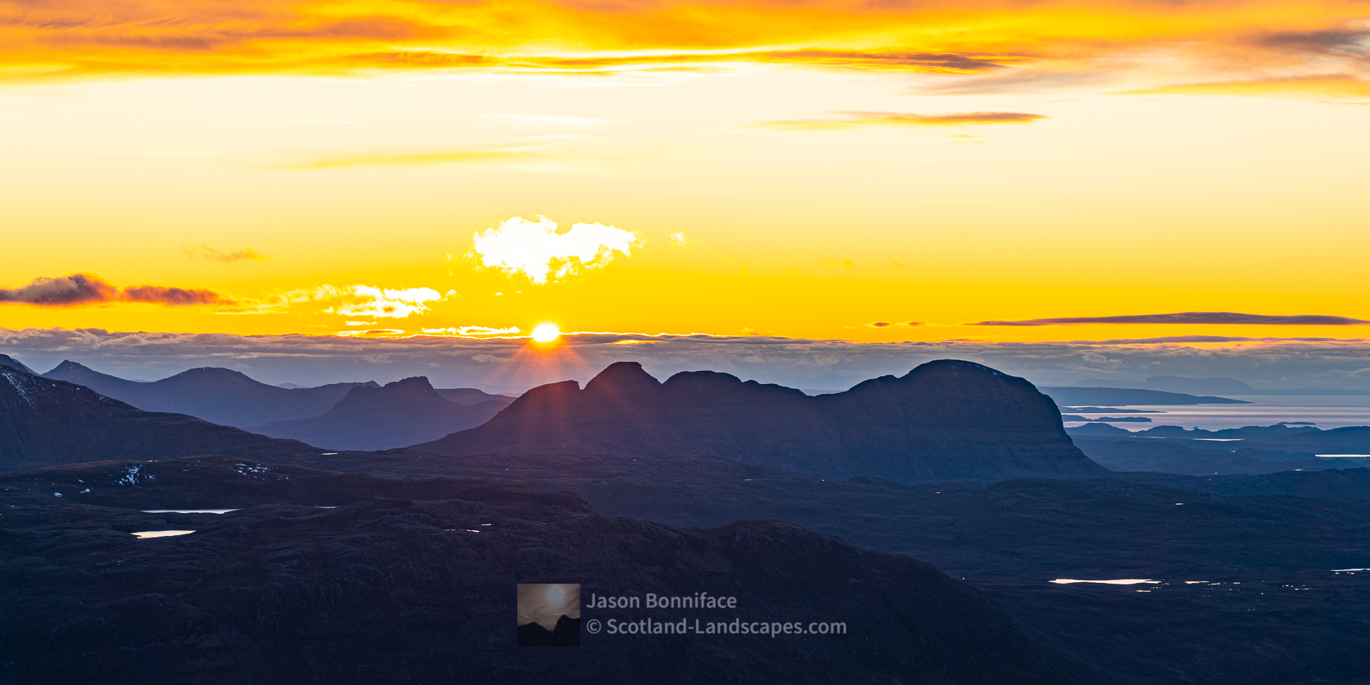 Last of the Sun - Stac Pollaidh and Suilven, Assynt & Ullapool
