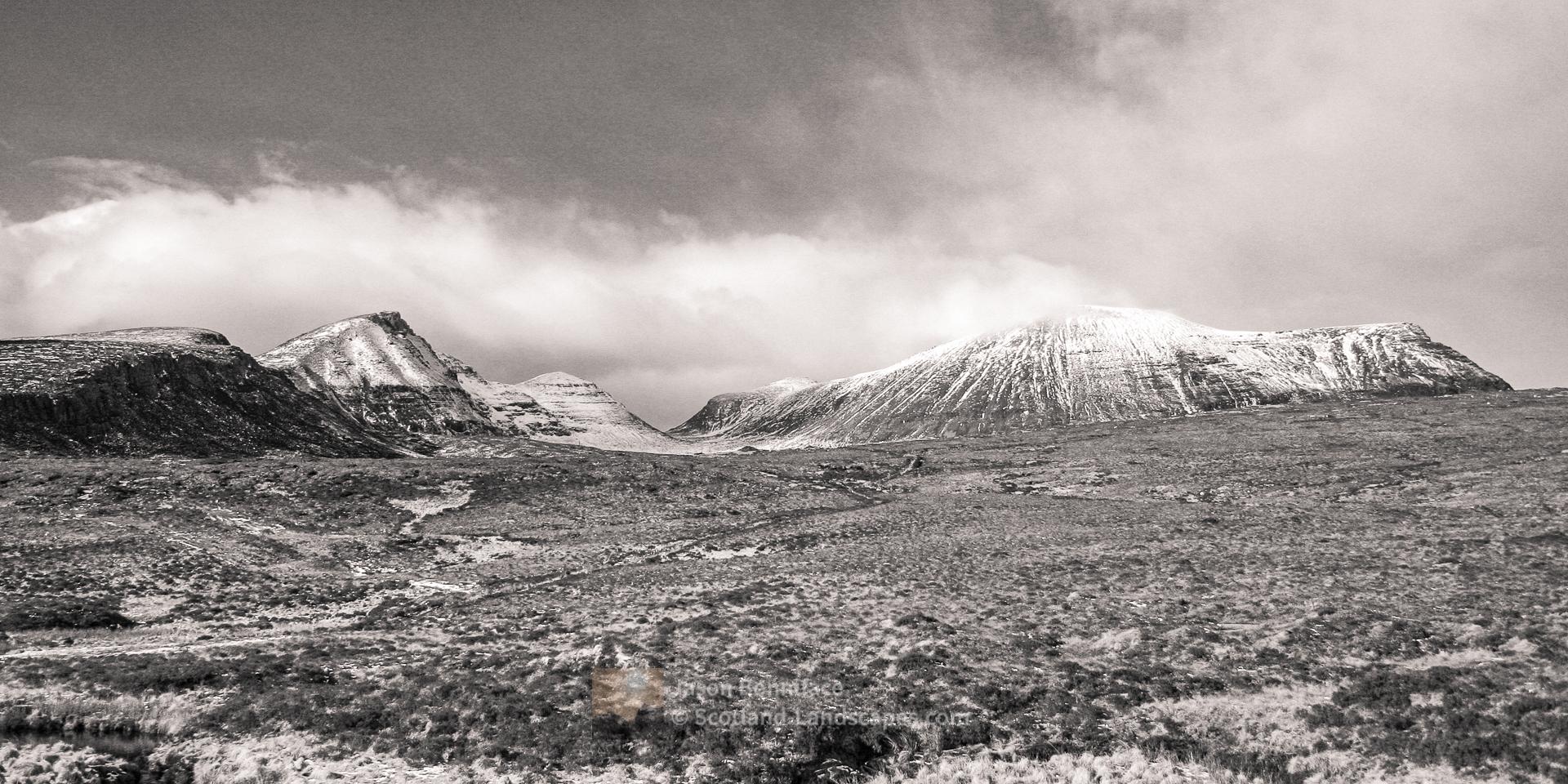 Quinag, Late Winter Snow, Assynt & Ullapool