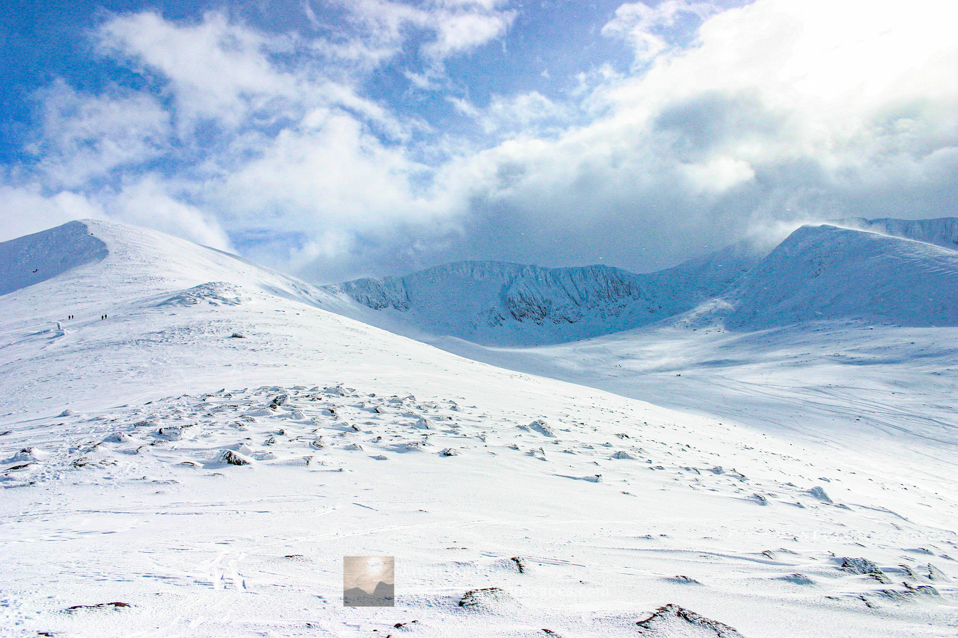 Winter in Coire an t-Sneachda, The Northern Corries, Cairngorm