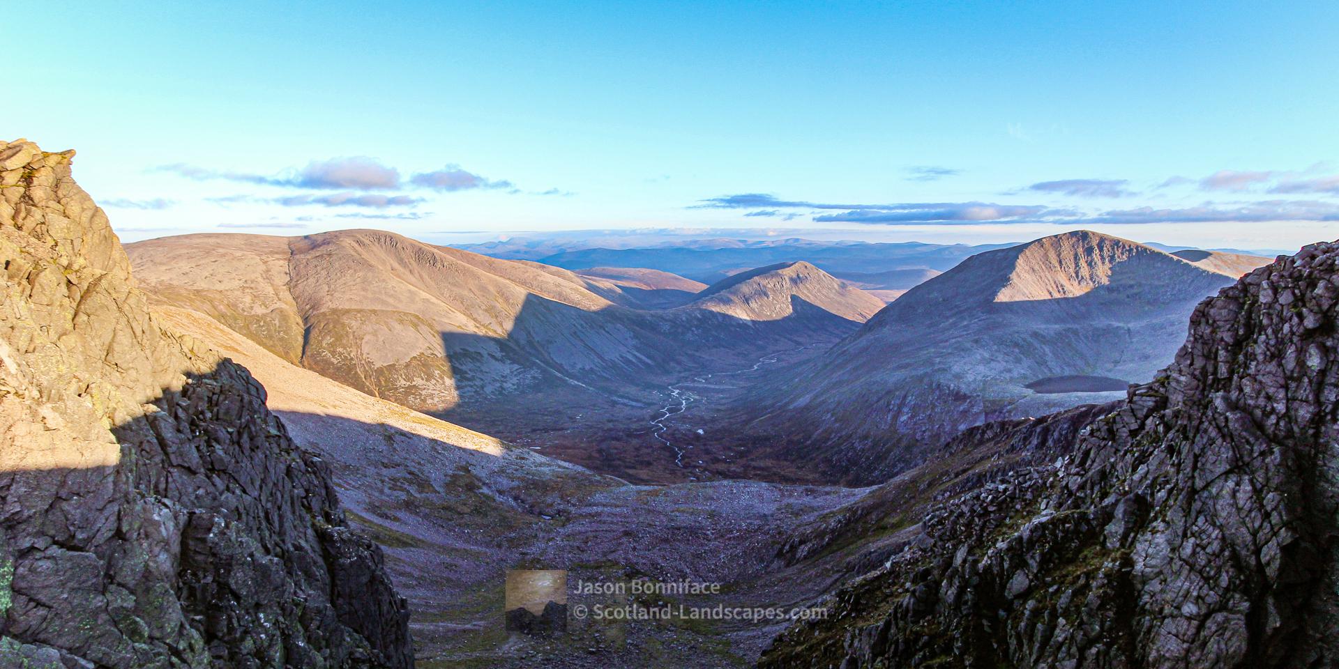Evening Light, Ben Macdui and Cairn Toul, Cairngorm