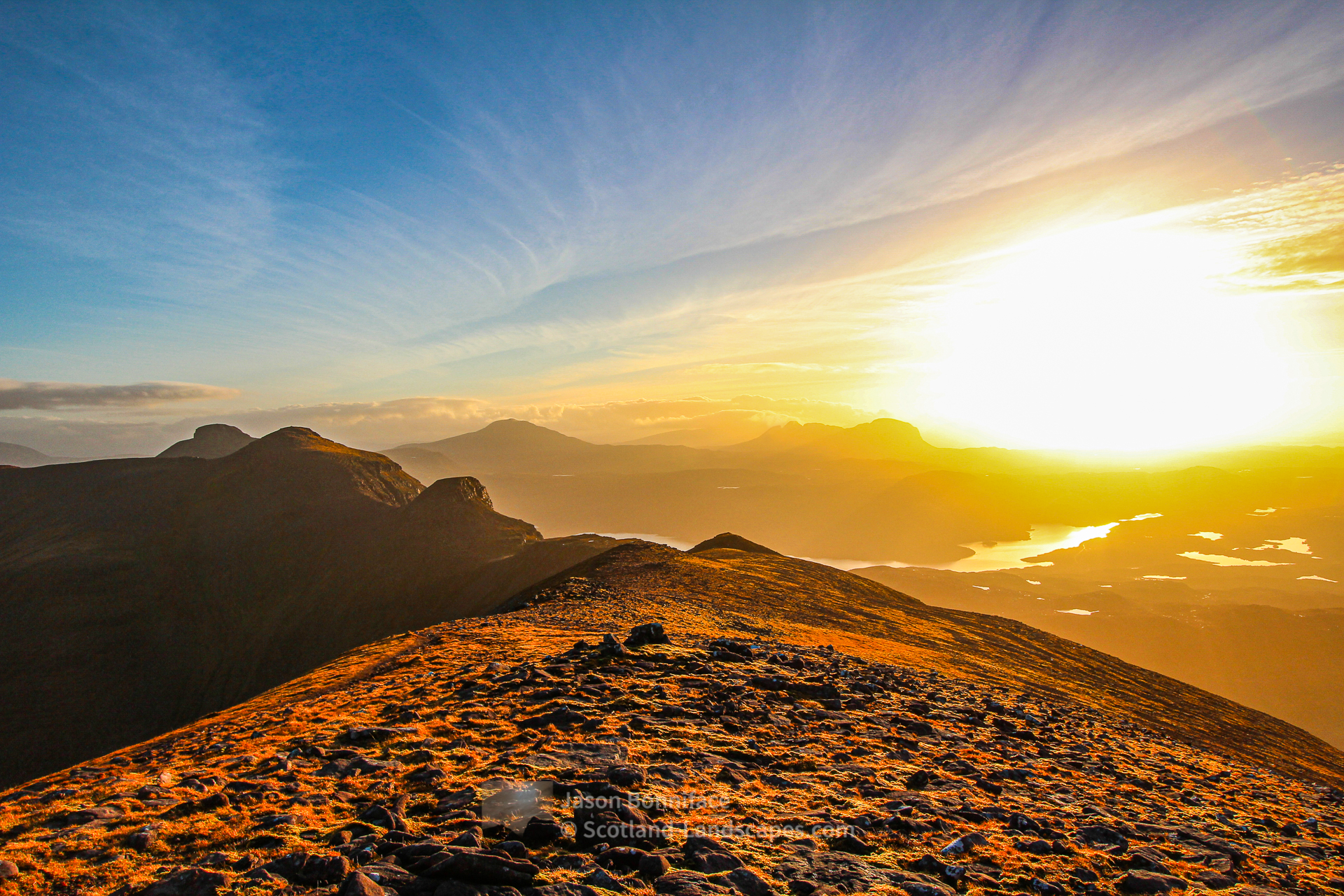 Afternoon Light - Quinag, Assynt & Ullapool