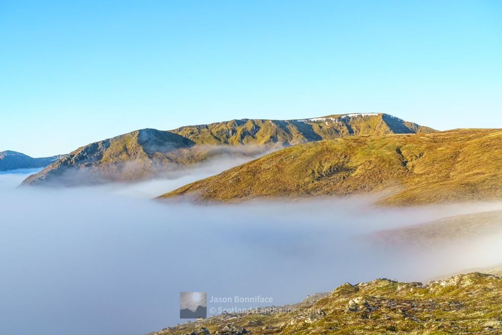 Tom a'Choinich Above the Clouds, Glen Affric