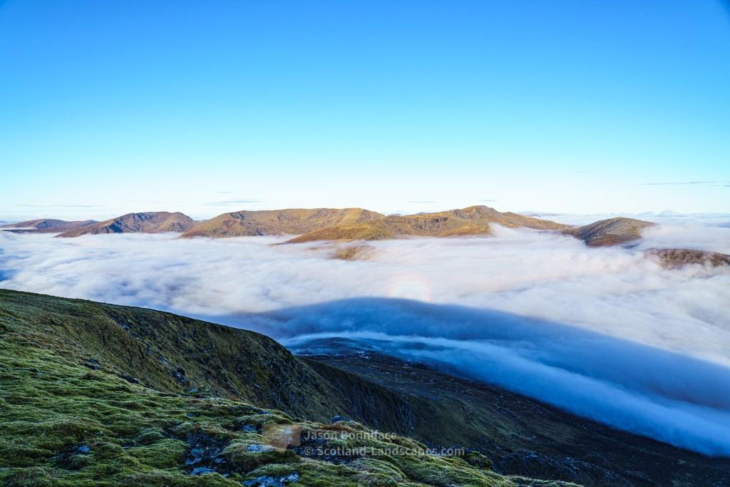 The Mullardoch Hills from Toll Creagach, Glen Affric