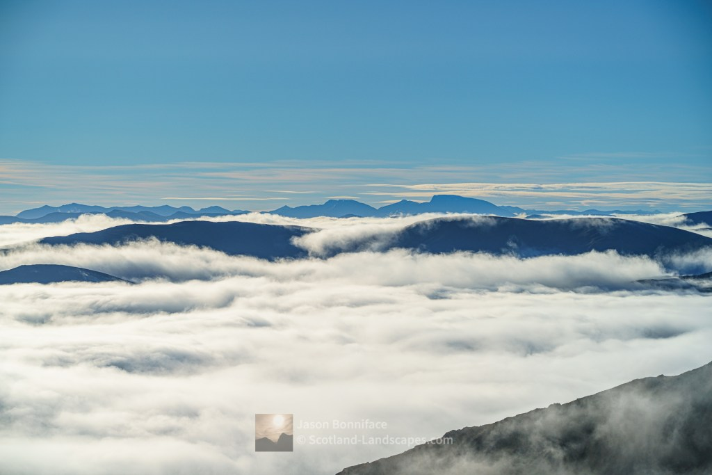 Over the Cloud to Nevis Range, Glen Affric