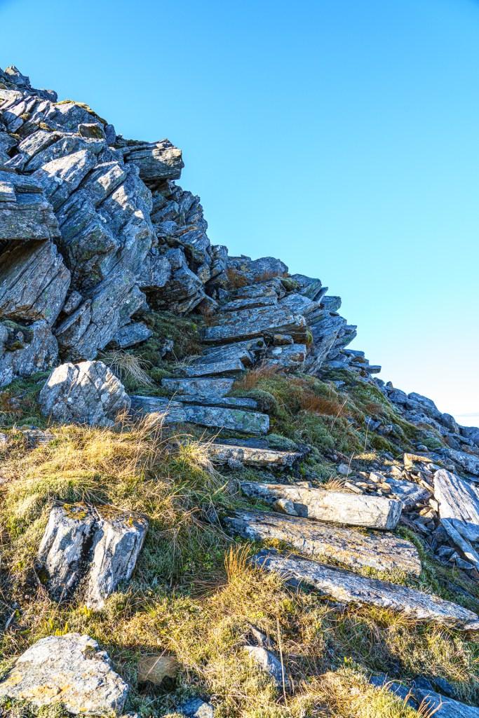 Stone Steps - Sron Garbh, Glen Affric