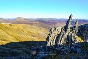 Bare Bones of the Earth - Stob Coire Dhomhnuill - 1, Glen Affric