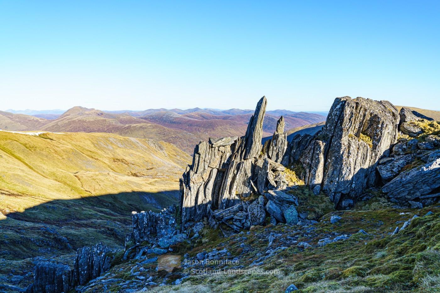 Bare Bones of the Earth - Stob Coire Dhomhnuill - 2, Glen Affric