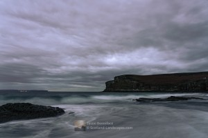 An Autumn Afternoon on Peedie Sands, Caithness