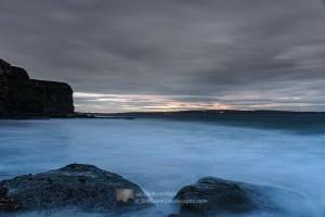Across Dunnet Bay from Peedie Sands, Caithness