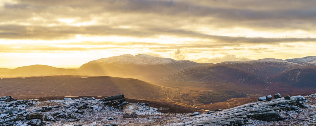 Ben Hee from Creag Riabhach, Ben Hope, Northern Sutherland