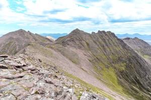 The An Teallach Peaks from Sgurr Creag an Eich, Torridon & Fisherfield