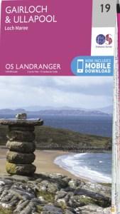 OS Landranger Maps image