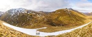 A Panorama - Sgurr an Fhuarail, Bealach a' Choinich and Ciste Dubh, Lochalsh & Knoydart