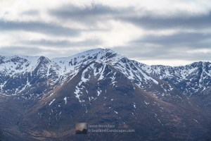 Aonach air Chrith from the slopes of Am Bathach, Lochalsh & Knoydart