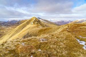 The Summit Ridge of Am Bathach, Lochalsh & Knoydart