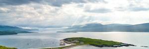 Loch Eriboll and Ard Neackie Panorama, Northern Sutherland
