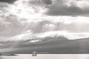 Beinn Spionnaidh in the Cloud, Northern Sutherland