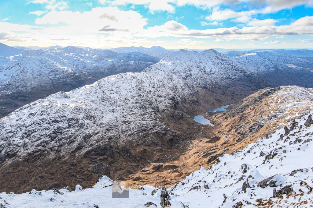 The Twin Peaks of Bidein a' Chabair and Sgurr na h-Aide, Lochalsh & Knoydart