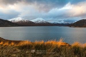 New Year Sunlight - Loch Cuaich, Lochalsh & Knoydart