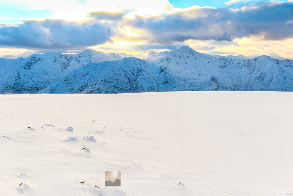 Sgurr Fhuaran from the summit plateau of Beinn Fhada, Lochalsh & Knoydart