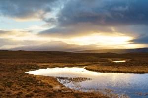 Ben Klibreck Across the Flow, Northern Sutherland