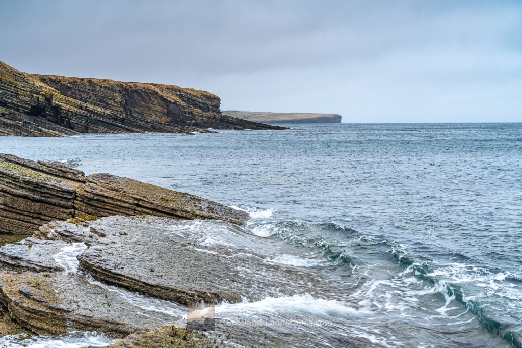 Caithness Coastline - North from Bucholly, Caithness