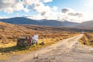 The Track to Gobernuisgach Lodge, Northern Sutherland