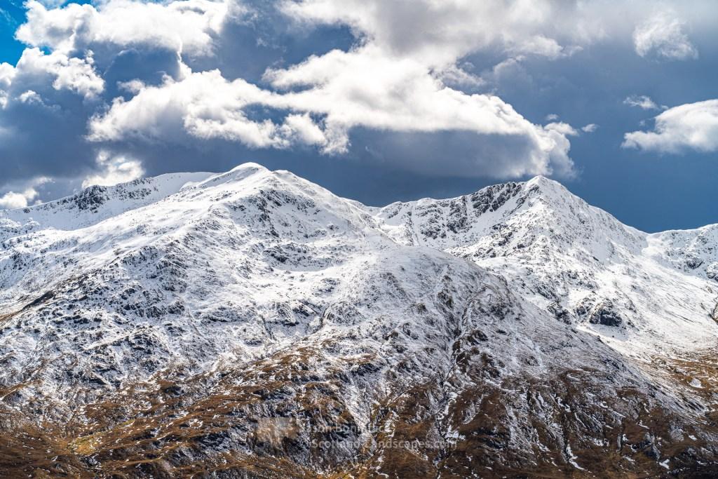 Menacing Clouds over Sgurr an Doire Leathain and Sgurr an Lochain, Lochalsh & Knoydart