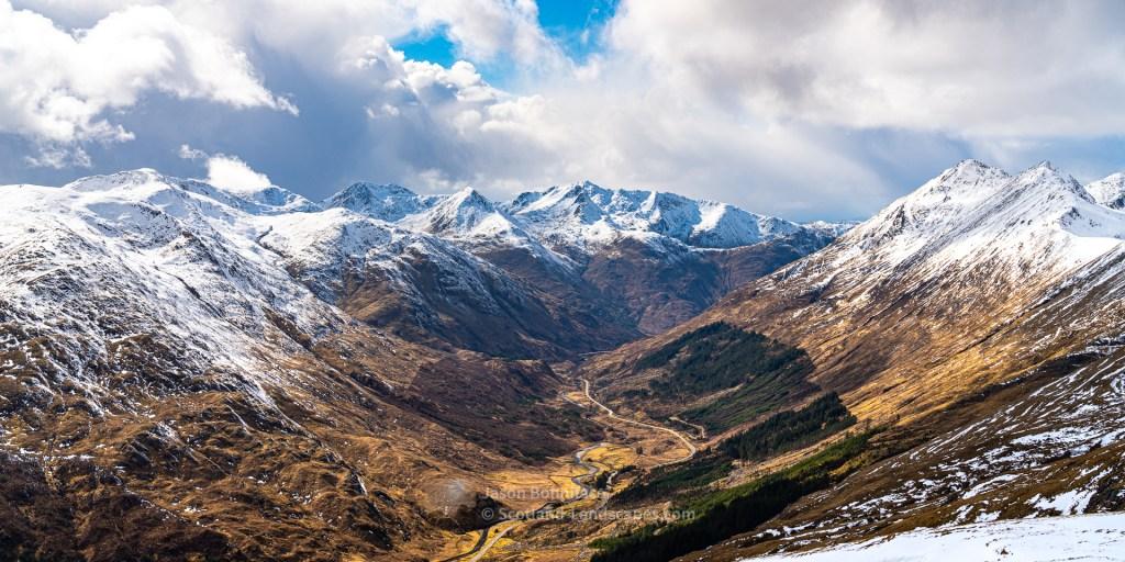 West Down Glen Shiel, Lochalsh & Knoydart
