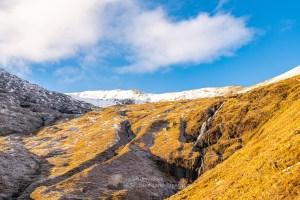 Steall Bhan Waterfall - Coire na Cadha, Aonach Meadhoin, Lochalsh & Knoydart
