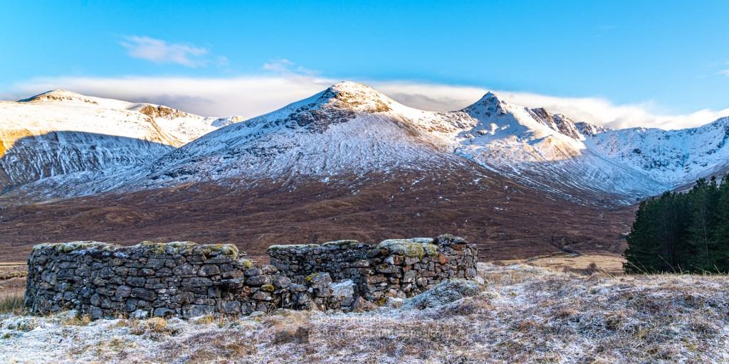 Sheepfold in Upper Glen Shiel, Lochalsh & Knoydart