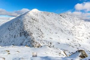 Sgurr nan Coireachan from the slopes of Garbh Chioch Bheag, Lochalsh & Knoydart