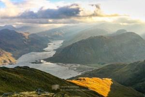 Morning Sun over Loch Hourn, Lochalsh & Knoydart