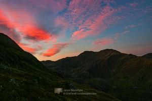 Meall Buidhe at Dawn, Lochalsh & Knoydart